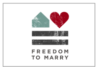 Freedom to Marry Logo w/ Border
