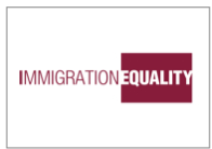 IMMIGRATION EQUALITY LOGO W/ BORDER